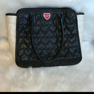 Betsy Johnson quilted purse